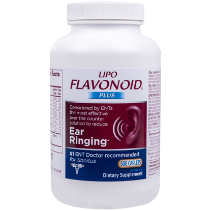 Picture of Lipo-Flavonoid Plus Ear Health Supplement 500 caplets