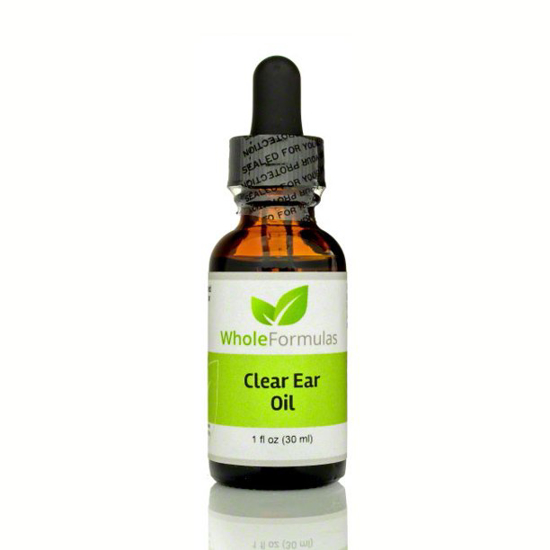Picture of Whole Formulas Clear Ear Oil 1 fl oz