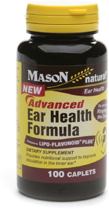 Picture of Mason natural Advanced Ear Health Formula Dietary Supplement 100 count
