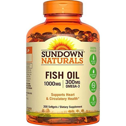 Picture of Sundown Naturals Fish Oil 1000 mg 200 Softgels