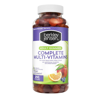 Picture of Berkley Jensen Adult Gummy Complete Multi Vitamins 250 ct