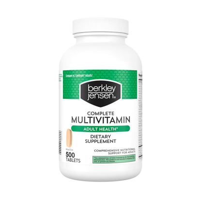 Picture of Berkley Jensen Complete Adult Health Multivitamin 500 ct
