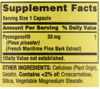 Picture of Spring Valley Pycnogenol Capsules 30 mg 30 count