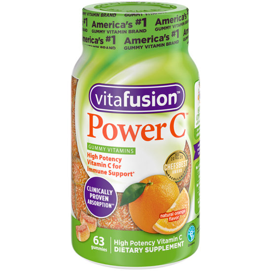 Vitafusion Power C Gummy Vitamins 63ct