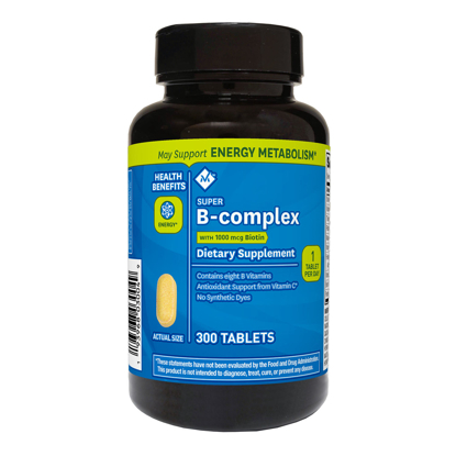 Member's Mark Super B-complex Dietary Supplement 300 ct