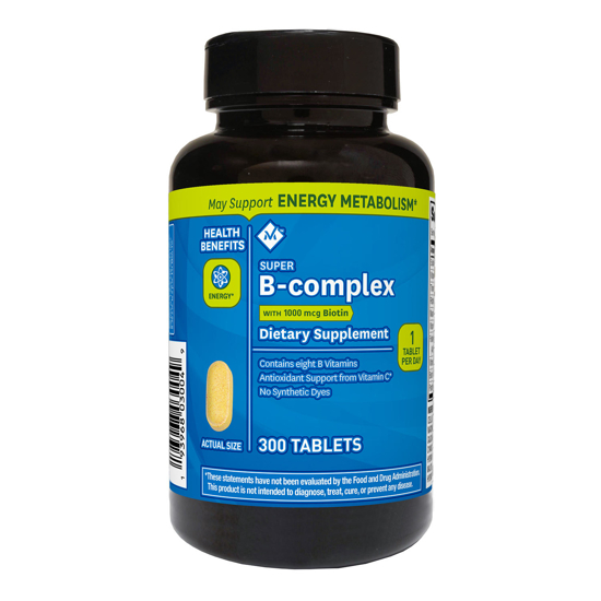 Member's Mark Super B-complex Dietary Supplement 300 ct