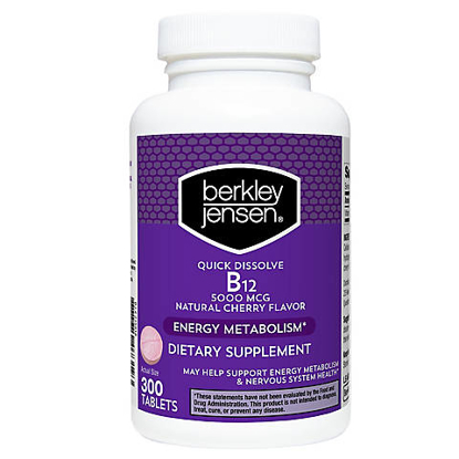 Berkley Jensen Quick Dissolve Dietary Supplement 300 ct