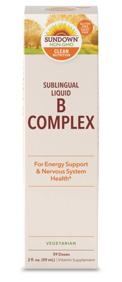 Sundown Naturals® Vitamin B-12 Complex Sublingual Liquid 2 Ounces
