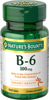 Nature's Bounty B-6 100 mg Tablets 100 ct