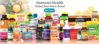 Immune Health for you. Global Best Name Brand Product 10 % less price than eBay and amazon.