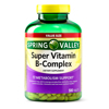 Spring Valley Super Vitamin B-Complex Tablets 500 Count