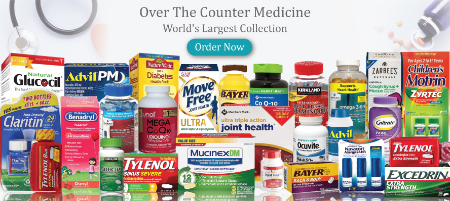 Over the Counter Medicine Heart Health Diabetes Health Cold and Cough Easy Nose and Throat Pain and Fever Relief Probiotic Digestion and Fiber Allergy Sinus & Asthma pain reliever all brand  medicine supplement available here