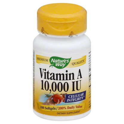Natures Way Natures Way Vitamin A 100 ea