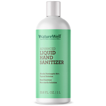 Naturewell Advanced Liquid Hand Sanitizer Refill 1 liter