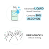 Naturewell Advanced Liquid Hand Sanitizer Refill 1 liter