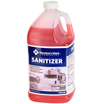 Member's Mark Commercial Sanitizer 128 oz