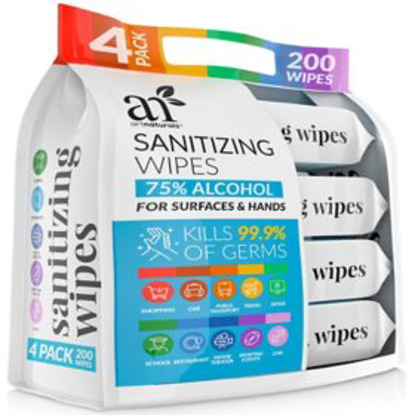 ArtNaturals Sanitizing Wipes 50 ct 40 pk