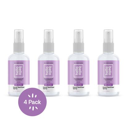 Hello Bello Hand Sanitizer Spray Lavender 4oz 4-count