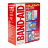 Band-Aid Brand Active Lifestyles Variety Pack Adhesive Bandages 173 ct