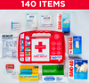 Picture of Johnson & Johnson All-Purpose Portable Compact First Aid Kit 140 pc
