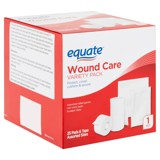 Equate Wound Care Kit Variety Pack