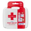Johnson & Johnson First Aid To Go! Portable Mini Travel Kit 12 pieces