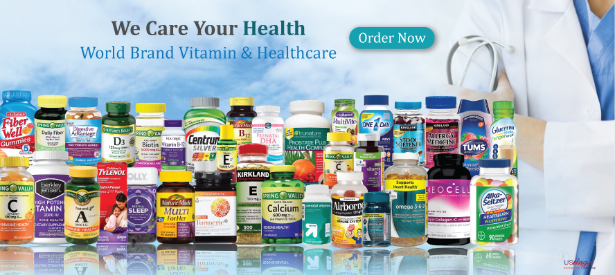Vitamin and Supplements World Brand Vitamin and Healthcare We Care Your Health Shop now Fish oil and Omega Multivitamin Vitamin A Vitamin B Vitamin C Vitamin D Vitamin E Vitamin K Minerals Wellness and Dietary Hair Nail Skin Fat Burn and Weight Loss medicine vitamin  Member's Mark Kirkland Signature Spring Valley Berkley Jensen Nature Made Lil Critters Nature's Bounty Trunature Centrum
