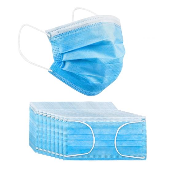 Disposable Breathable Face Mask 3 Layper Ear Loop 50 pcs
