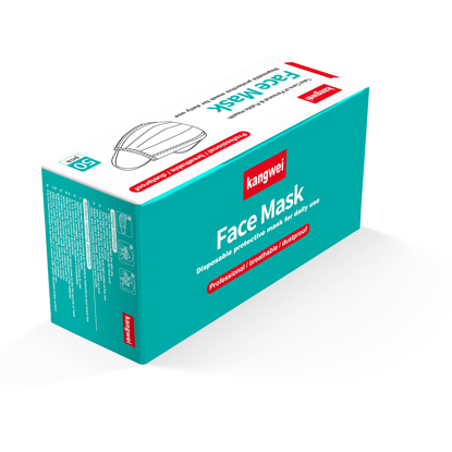 Disposable 3 Ply Face Mask 50 Pack