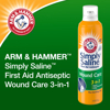 Arm & Hammer Simply Saline First Aid Antiseptic Wound Care 3 in 1 7.4 OZ