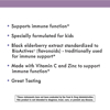 Sambucus Kids Standardized Elderberry Gummies Immune Support Supplement 40 ct