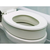 "Essential Medical Supply Toilet Seat Riser Standard Shape 3.5"""