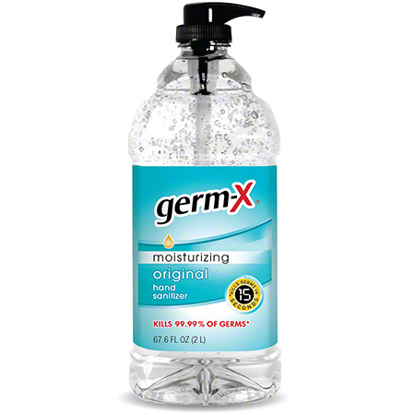 Picture of Germ-X Moisturizing Hand Sanitizer - 67.7 oz.