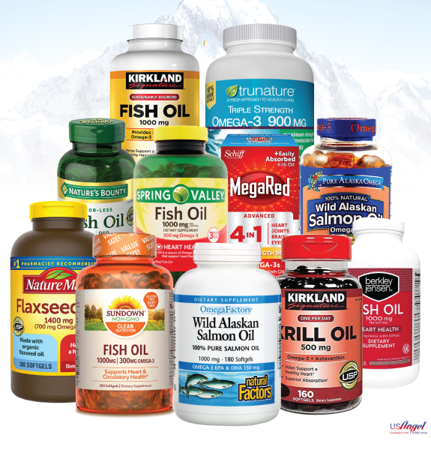 Picture for category Fish Oil and Omegas