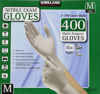 Picture of Kirkland Signature Nitrile Exam Gloves, Size Med. 200-Count (2-Pack)